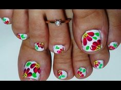 44 Easy And Cute Toenail Designs for Summer – Page 2 of 5 – Cute DIY Projects