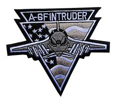 Grumman A-6F Intruder US Air Force USAF Embroidered Iron on Patch Free Shipping
