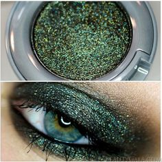 """Urban Decay Moondust Eyeshadow in """"Zodiac"""" ~ I tested this stuff last well... looks amazing & I will be going back to get it!!!"""