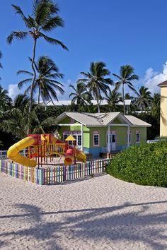 Kids area at Ocean Blue & Sand resort in Punta Cana, Dominican Republic.