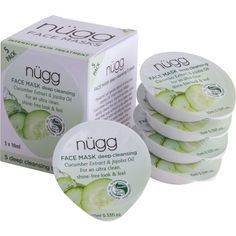 NUGG Deep Cleansing Face Masks ($22) ❤ liked on Polyvore featuring beauty products, skincare, face care, face masks, moisturizing facial mask, deep cleansing face mask, deep cleansing facial mask, hydrating face mask and hydrating facial mask