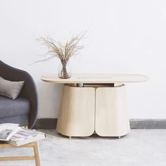 Tea table is a effective focal point for a living space as it can always inspire the decor around it to a higher level