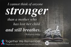 Thank You (Pregnancy and Infant Loss Awareness Day) www.herviewfromhome.com