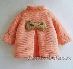 Crochet cardigan sweater - pattern 1