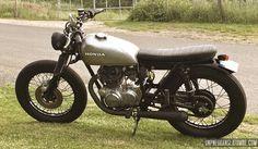 La Honda CB 360 de Benjamin...