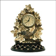 Get this unique Sterling Furnishings Ivy Finch clock for a sale price of $46 from Hansen Wholesale.