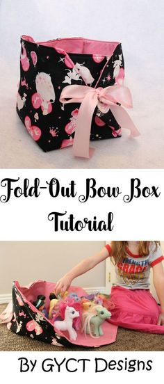 Fold-Out Bow Box Tutorial by GYCT