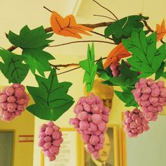 grapes craft | Crafts and Worksheets for Preschool,Toddler and Kindergarten