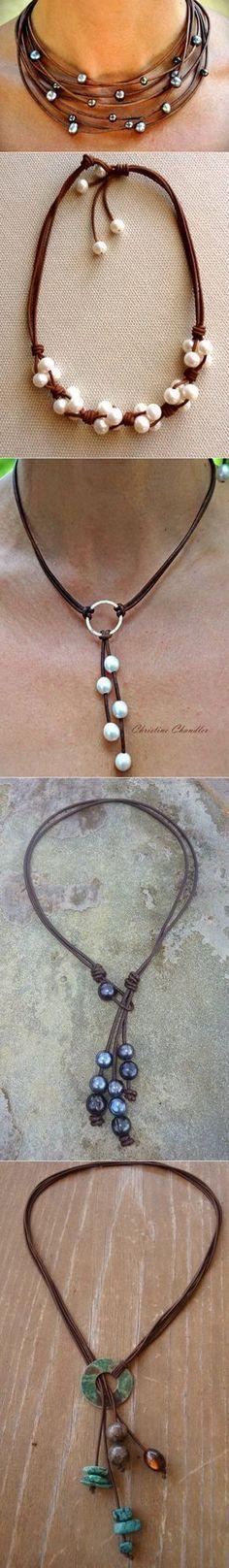 Мода на жемчуг (подборка и бонус) / Украшения и бижутерия / ВТОРАЯ УЛИЦА #homemadenecklace