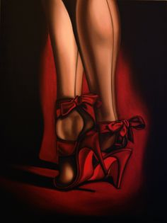 Red Heals  by Drew Darcy