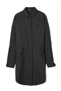 Fred Perry - Parka Shirt Dress Graphite Oxford