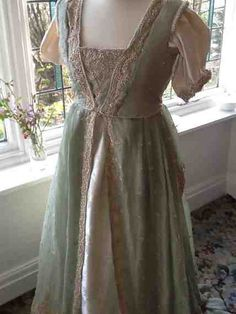 Wonderful Regency ever after gown Neo  medieval by Ionianswansongs, £135.00