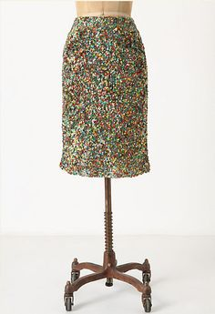 YES! sparkle skirt.