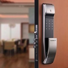 KEYless Entry Systems sell a range of biometric fingerprint and digital door locks. A range of bluetooth & z wave locks with variable features. Entry Door Locks, Smart Door Locks, Door Lock System, Biometric Lock, Swipe Card, Security Technology, Hotel Guest, Treadmill, Door Handles