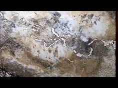 Создание состаренного камня (мрамора) из декоративной штукатурки OIKOS - YouTube