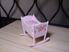 Dollhouse Miniature Nursery Furniture by miniaturerosegarden, $19.00