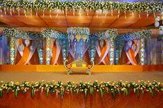 stage decor Wedding Hall Decorations, Marriage Decoration, Tent Decorations, Wedding Mandap, Tamil Wedding, Wedding Trends, Wedding Designs, Luxury Wedding Decor, Wedding Planning Websites