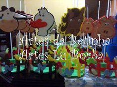 Artes da Betinha: Centros de Mesa - Diversos
