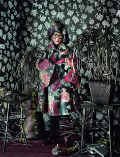 """The Terrier and Lobster: """"Age of Iris"""": Iris Apfel by Jeff Bark for Dazed & Confused November 2012"""