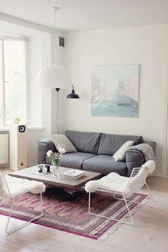 Sofa: Muuto. via Kaikki mitä rakastin