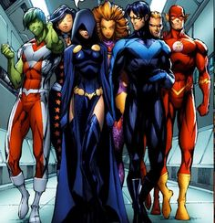 When there's trouble you know who to call - Teen Titans!