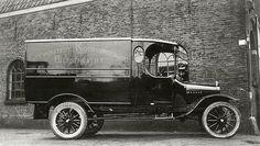 Biltstraat 1920 | Bestelauto van de Coöperatieve Kookvereeniging, Biltstraat 117