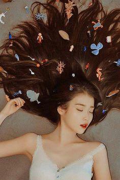 Korean Girl, Asian Girl, Iu Hair, Beauty Tips For Women, Iu Fashion, Soyeon, Korean Actresses, Korean Beauty, Asian Beauty