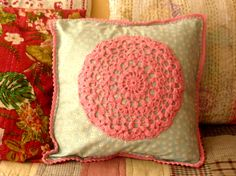 pillow by Mari Gho