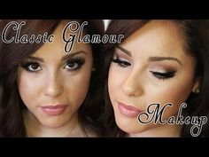 ▶ Classic Glamour Makeup Tutorial ft. Too Faced A Few Of My Favorite Things Palette - YouTube