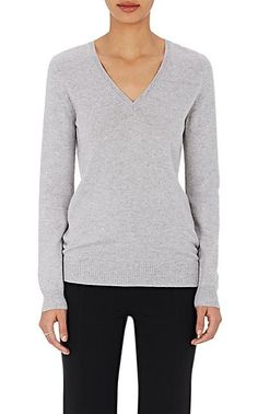 Barneys New York Cashmere V-Neck Sweater - Sweaters - 504364226