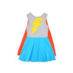 Supergirl cape dress Siaomimi Play