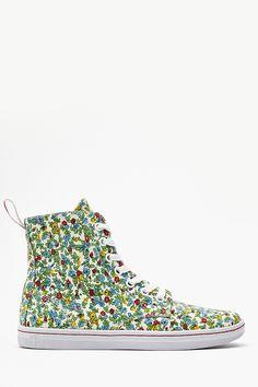 Hackney Sneaker in Floral