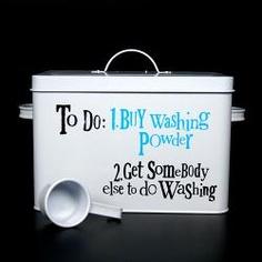 The Bright Side Storage - Washing Powder Tin