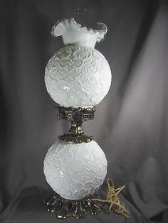 spanish lace milk glass - Google Search