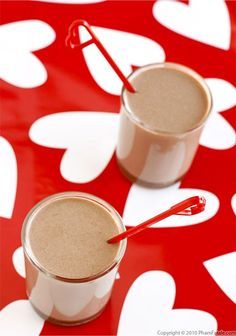 Hot Chocolate Drink Recipe with Picture