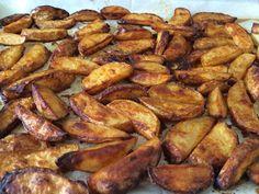 תחביבים וכיופים: תפוחי אדמה ציפס עם צילי כמו במקדונלדס