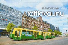 raitiovaunu ~ streetcar