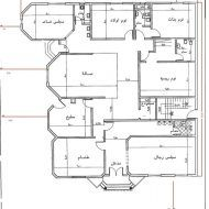 مخطط دور واحد مساحة 400 House Floor Design, Modern House Design, Classic House Exterior, Iron Gate Design, Architectural House Plans, Model House Plan, House Map, Family House Plans, Luxury Homes Dream Houses