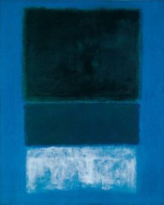 Mark Rothko, Untitled No. 15: also love Rothko. So much focus on the pure emotion art can evoke & express.