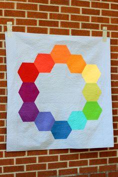In Color Order: Color Hex Quilt Pattern