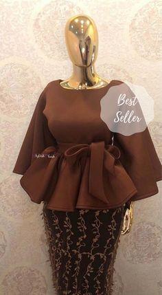 African Fashion Skirts, African Wear Dresses, African Inspired Fashion, African Print Fashion, Skirt Fashion, Fashion Dresses, Church Fashion, Office Fashion, Dress Skirt