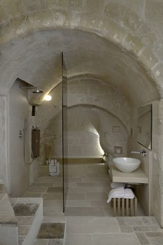 Corte San Pietro Hotel | Matera, Basilicata, Italy | by Daniela Amoroso Architetto, Matera, Basilicata, Italy | 2012 | Photograph by PierMario Ruggeri