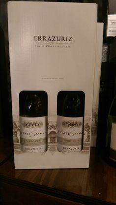 2 flessen Errazuriz estate series in giftbox