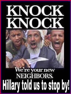 Strike the neck of the infidels...and YOU are an infidel! (yep that's in their Quran) wake up America before it's too late!!