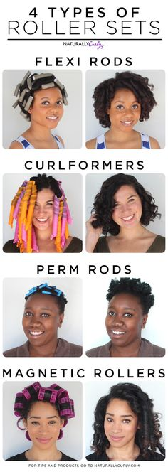 Which Roller Set Are You? – – Fancy Nails Mag – Which Roller Set Ar… – Zita Bretherton - Perm Hair Styles Permed Hairstyles, Trendy Hairstyles, Roller Set Hairstyles, Natural Hair Care Tips, Natural Hair Styles, Roller Set Natural Hair, Afro, Bobe, Types Of Curls