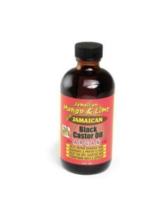 Argan Black Castor Oil 4 oz