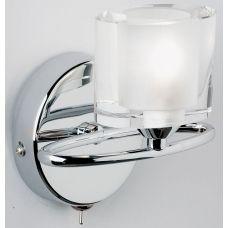 http://www.universal-lighting.co.uk/home_lighting/wall_lights/chrome_wall_lights?product_id=2562 £43  Sonata Modern Chrome Switched Single Wall Light