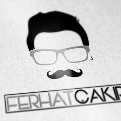 Ferhat Çakır 👓   #logo #design #coreldraw #tasarim #grafik #graphic