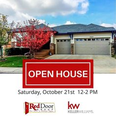 Open House TODAY 12-2 PM. Come see this gorgeous ranch in Homestead Hills in Thornton! There's so much to love about this home from the spacious kitchen and open floor plan to the master retreat and covered patio. Come see it for yourself!  Property Details: http://bit.ly/2hV4uXT (clickable link in bio)  Listed by: Randy Fuhs of The Red Door Group - Keller Williams Preferred Realty Denver North