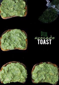 Yum! GF Dill Avocado Toast
